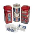 New English Teas - British Tea Selection (3-as fémdobozos válogatás Busz, Union Jack, Telefonfülke)