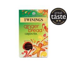 Twinings  Gingerbread Indulgence Green Tea - 20 Envelopes