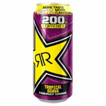 Rockstar Tropical Guava PM 99p 25% More Taste More Caffeine 500ml