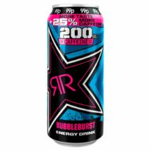 Rockstar Supersours Bubbleburst PM 99p 25% more taste more caffeine 500ml