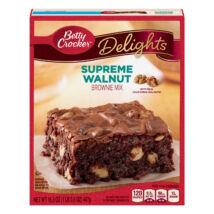 Betty Crocker Delights Supreme Walnut Brownie [USA] 467g