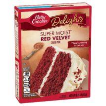 Betty Crocker Cake Mix Super Moist Red Velvet [USA] 432g