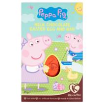 Peppa Pig Milk Chocolate Easter Egg and Bar