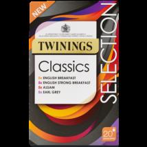 Twinings Classic Selection 20 borítékolt filter - Fekete tea válogatás