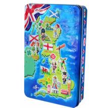 Churchill's UK Map English Toffees (fémdobozos vajkaramella) 300g