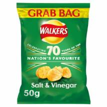 Walkers Salt & Vinegar Chips - Grab Bag - Sós/Ecetes 50g