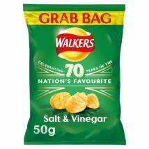 Walkers Salt & Vinegar Chips - Grab Bag - Sós/Ecetes 50g
