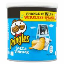 Pringles Salt and Vinegar chips - Sós és Ecetes Chips 40g