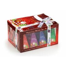 English Tea Shop Ünnepi Santa Bio tea válogatás 12 selyemfilter