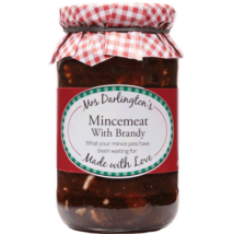 Mrs. Darlingtons Mincemeat With Brandy 410g