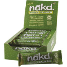 Nakd Apple Crunch 18x30g