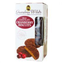 Grandma Wild's Tejcsokoládéval bevont áfonyás keksz 150g