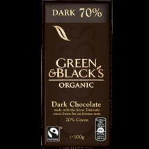 Green & Blacks Bio étcsokoládé 70% kakaóval 100g