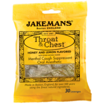 Jakemans Honey & Lemon Lozenges (méz-citrom cukorka) 100g