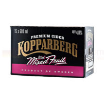 15x Kopparberg Mixed Fruit Cider 500ml