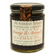 The Wooden Spoon Vintage Dark Orange & Brandy Marmalade 340g