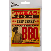 Texas Joe's Low & Slow BBQ Jerky 25g