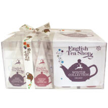 English Tea Shop - Organic Christmas Winter Prism Collection 12 db selyempiramis