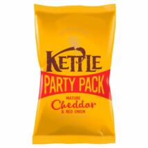 Kettle Chips Party Pack Mature Cheddar & Red Onion 250g