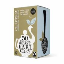 Clipper Fairtrade Organic Earl Grey Tea 50 db filter