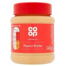 Co Op Crunchy Peanut Butter 340g