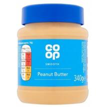 Co Op Smooth Peanut Butter 340g