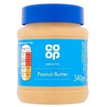 Co Op Smooth Peanut Butter 340g