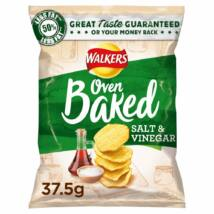Walkers Baked Salt & Vinegar Crisps - Sós/Ecetes 37.5g