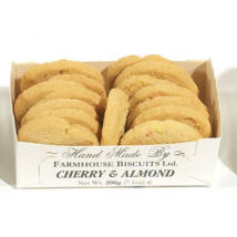 Farmhouse Biscuits Cherry & Almond Biscuits 200g