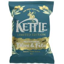 Kettle Olive & Feta Limited Edition Hand Cooked Potatoes 135g
