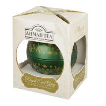 Ahmad Tea - Royal Earl Grey Tea  - Gömb fémdobozos tea 8 piramis filter