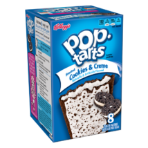 Kellogg's Pop Tarts - Frosted Cookies & Creme 400g