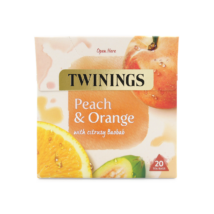 Twinings Peach & Orange (Őszibarack és narancs) Tea 20 db filter