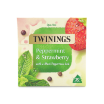 Twinings Peppermint & Strawberry (Borsmenta és eper) Tea 20 db filter