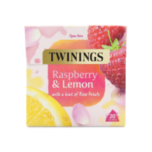 Twinings Raspberry & Lemon (Málna és citrom) Tea 20 db filter