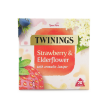Twinings Strawberry & Elderflower (Eper és bodza) Tea 20 db filter