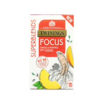 Twinings Superblends Focus Tea (Mangó és ananász tea ginzenggel) 20 db filter