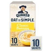 Quaker Oat So Simple Classic Banana Porridge 10 instant tasak 348g
