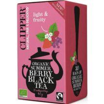 Clipper Organic Summer Berry Black Tea 20 db filter