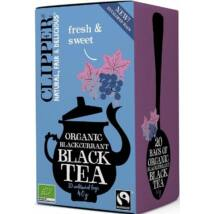 Clipper Organic Blackcurrant Black Tea 20 db filter