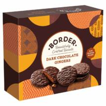 Border Dark Chocolate Gingers Gift Box 255g