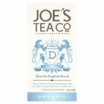 Joe's Tea Co -  Ever-So-English Decaf tea bags 15 db piramis filter