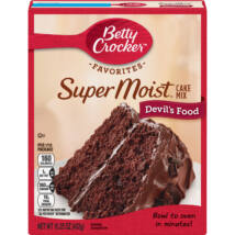 Betty Crocker Super Moist Devil's Food Cake Mix [USA] 432g