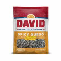 David Spicy Queso Jumbo Sunflower Seeds [USA]  149g