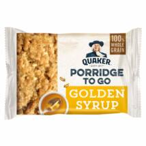 Quaker Porridge to Go Golden Syrup Breakfast Bar 55g