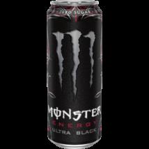 Monster Ultra Black (UK) árcímke nélküli 500ml