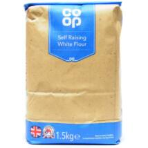 CO OP SELF RAISING WHITE FLOUR 1.5KG