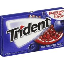 Trident Wild Blueberry rágógumi 14db