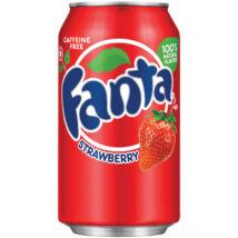 Fanta Strawberry Flavored Soda [USA] 355ml