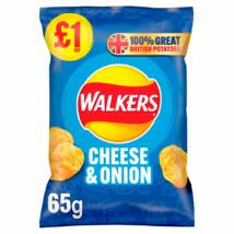 Walkers Crisps Cheese & Onion 65g